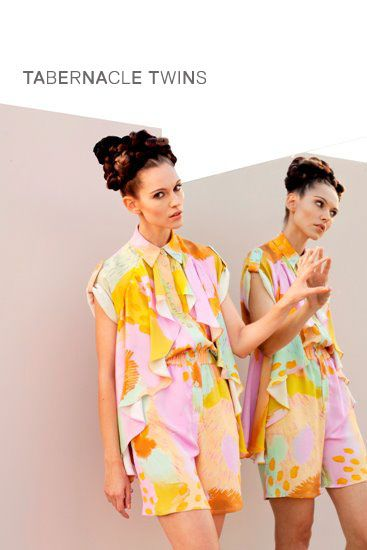 Tabernacle Twins Collection Spring/Summer 2012