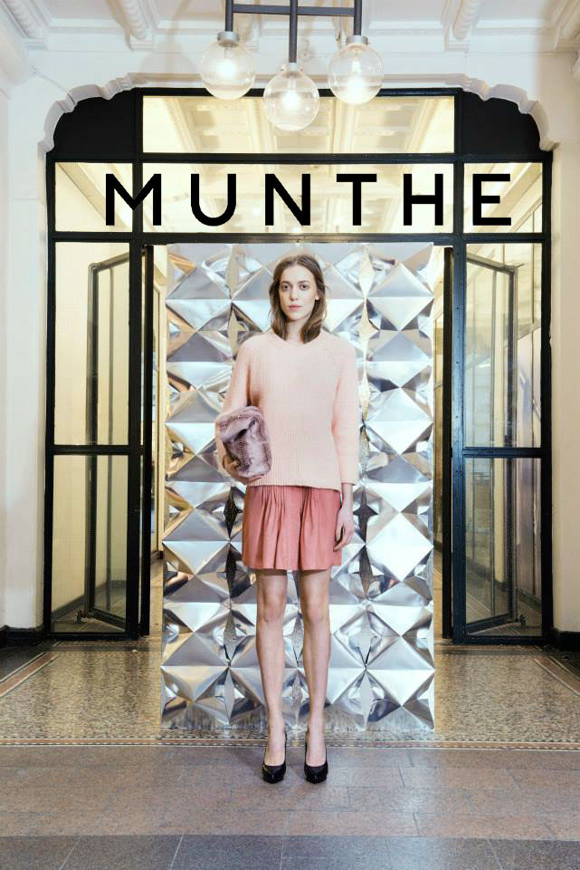 MUNTHE Collection Fall/Winter 2014