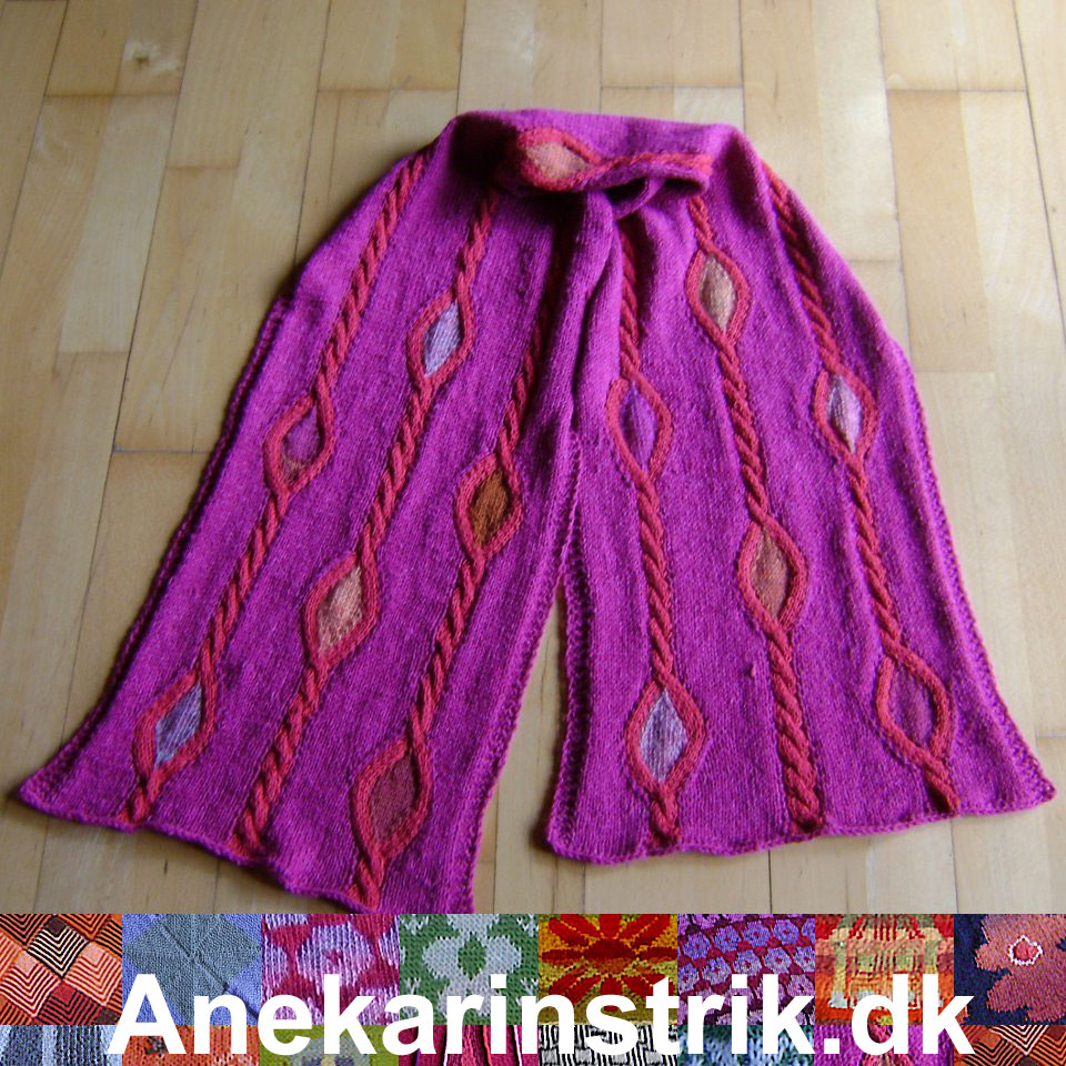 Anekarinstrik strikkeopskrifter Collection Winter 2014