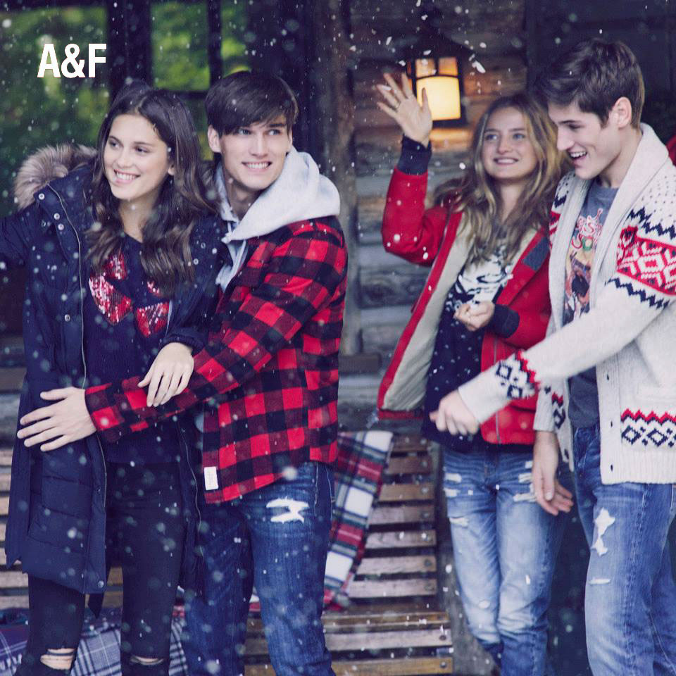 Abercrombie & Fitch Collection Winter 2014