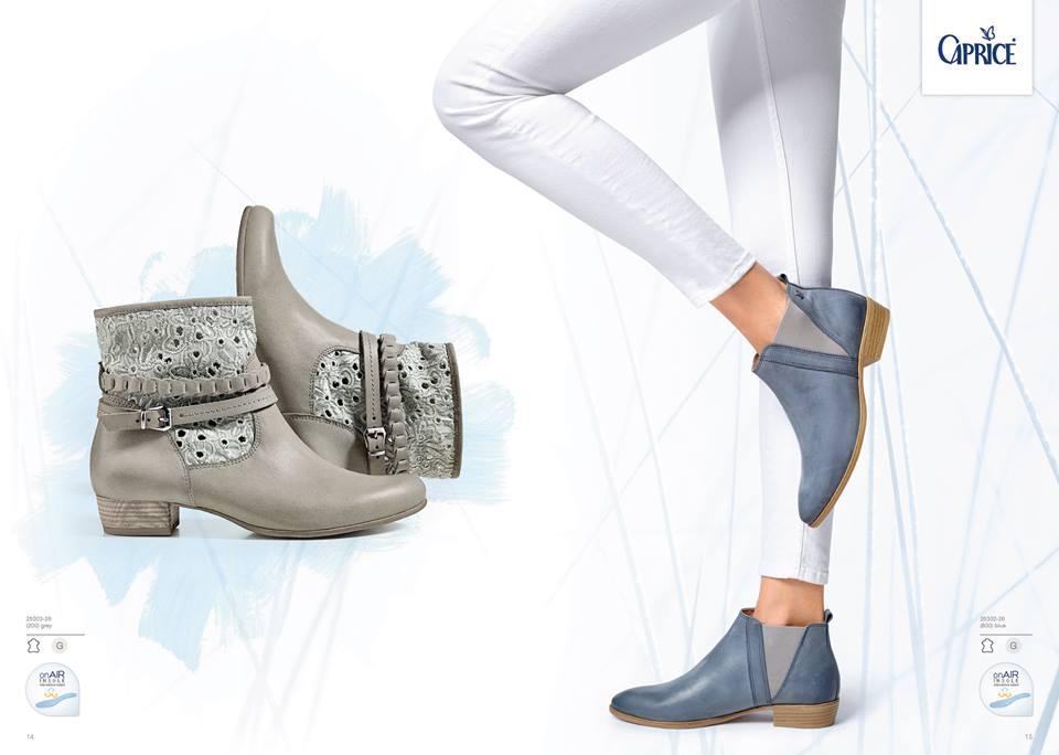 Los Angeles klassische Stile neue Fotos Caprice Schuhproduktion GmbH & Co. KG Collection 2016 ...