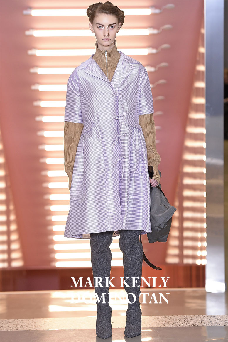 Mark Kenly Domino Tan Collection Autumn 2017